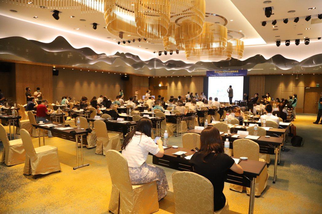 預見嘉義-2025科技發展論壇活動現場。 楊鎮州/攝影