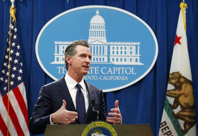 才剛度過罷免危機,宣告防疫政策獲得選民支持,加州州長紐森的2個小孩今天驗出COVID-19陽性。美聯社