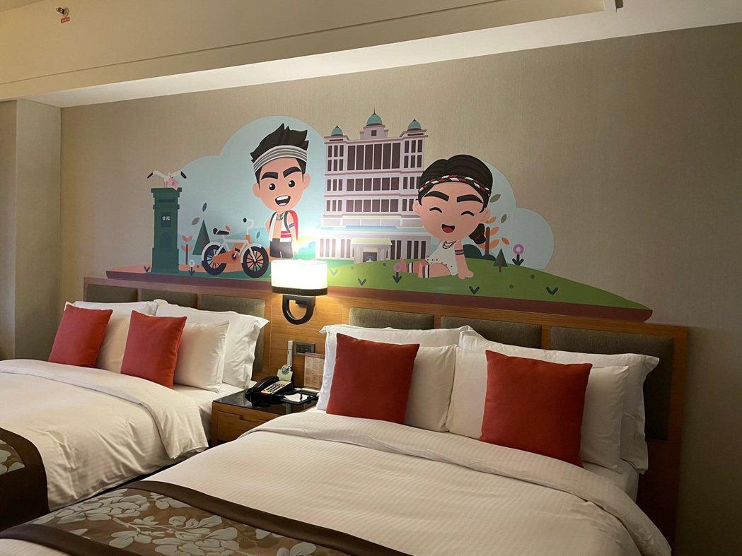 福容大飯店花蓮店,瞄準五倍券商機,推出優惠方案。圖/福容飯店提供