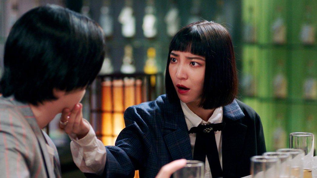 高雋雅在「戀愛是科學」中飾演女同志。圖/三立提供