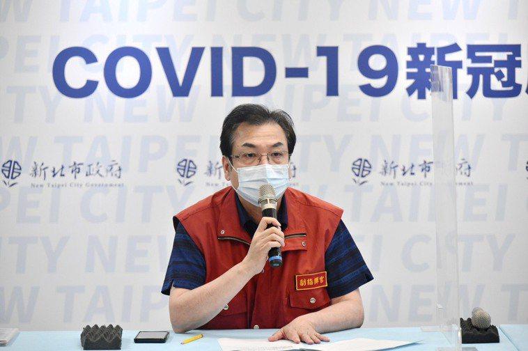 新北副市長劉和然說,呼籲也提醒中央,現在第一劑接近5成,第二劑不到1成,民眾需求...