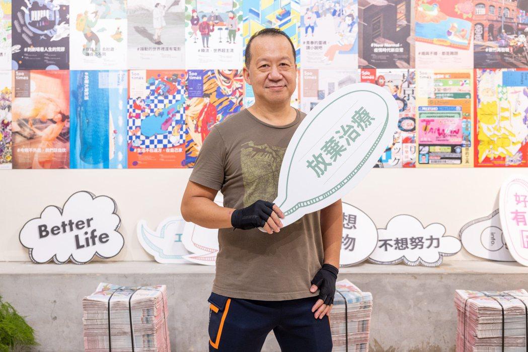 華納兄弟台灣分公司總經理石偉明。記者沈昱嘉 / 攝影