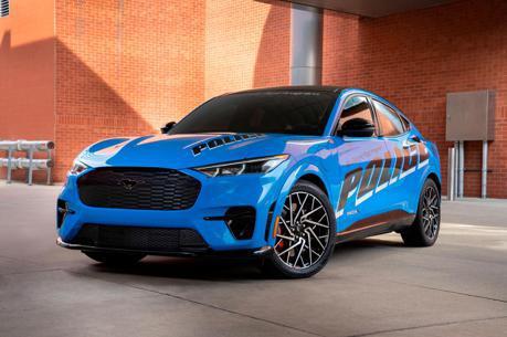 這台警車不好惹! Mustang Mach-E警車在密西根州進行測試