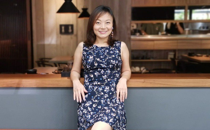 黃詩琪為圓母親夢想辭去工作,靠著努力在二度就業時華麗轉身。圖片由黃詩琪授權「有肌勵」刊登