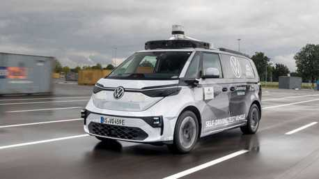 VW ID. Buzz AD慕尼黑車展亮相 展現最新AI智慧科技