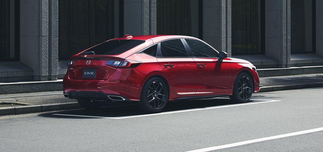 日規Honda Civic Hatchback。 摘自Japan