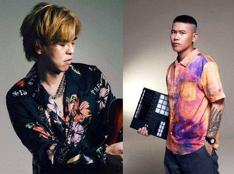 信義店會員之夜6樓LIVE音樂會邀PUZZLEMAN(右)、柯有倫(左)等7組歌...