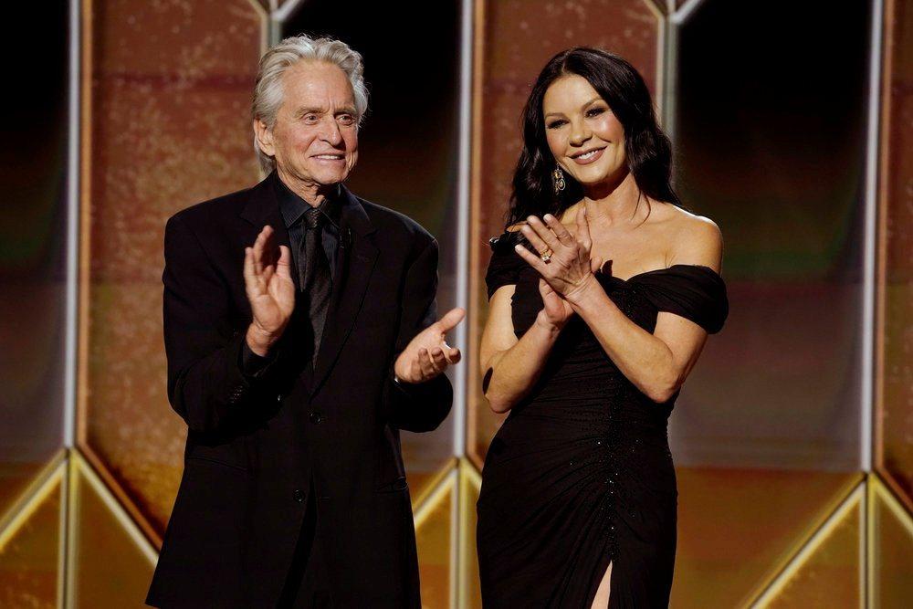 麥克道格拉斯與凱薩琳麗塔瓊斯夫妻將在本屆艾美獎頒獎典禮亮相。(路透資料照片)