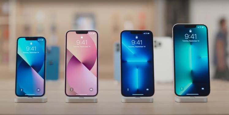 從5.4吋的iPhone 13 mini到6.7吋的iPhone 13 Pro ...