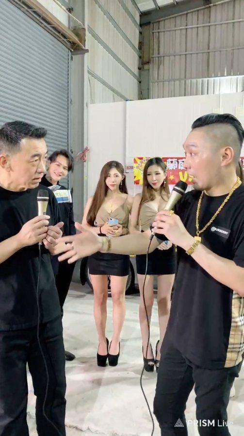 徐亨與連千毅合體直播。 圖/擷自臉書