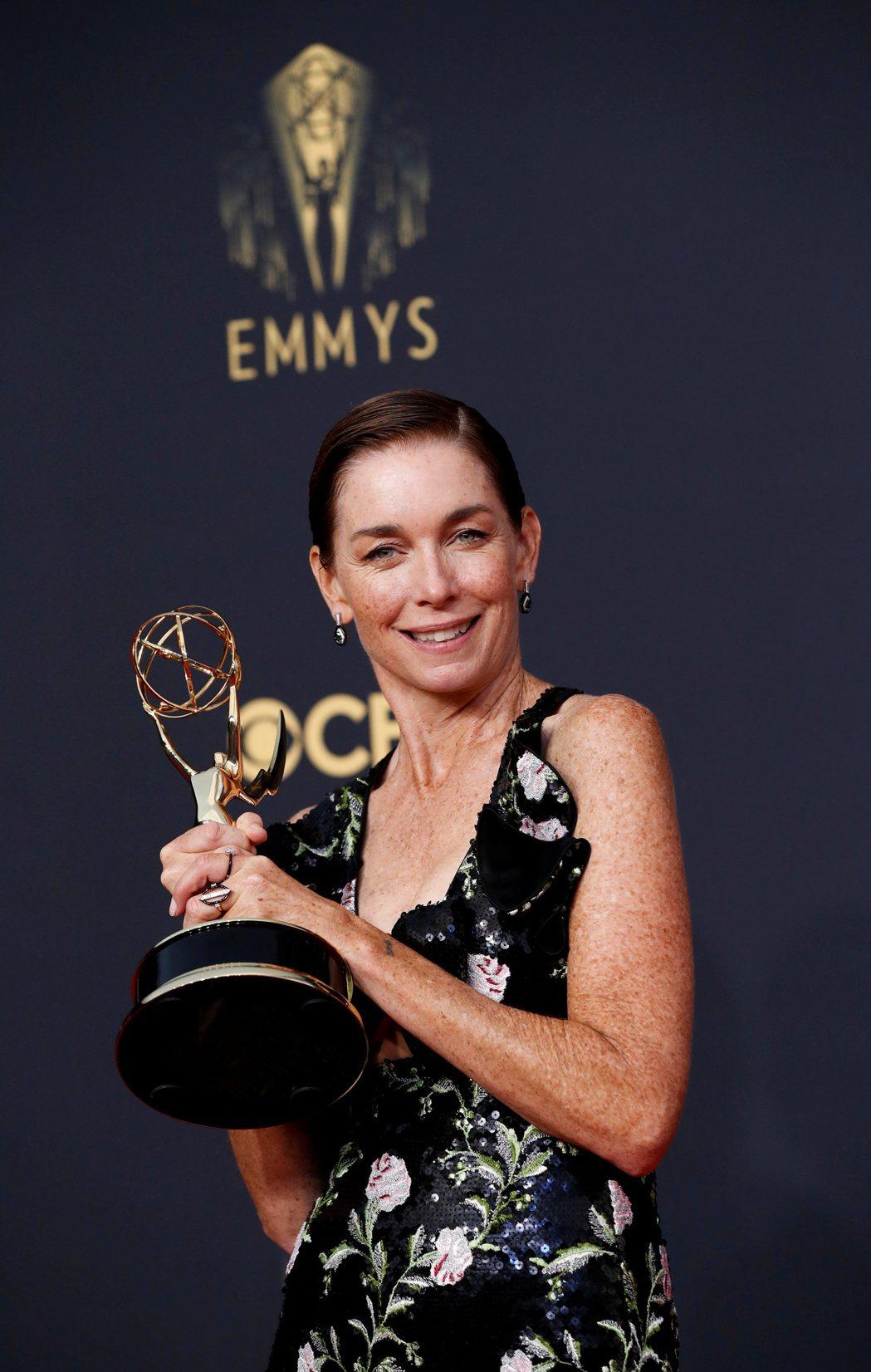 茱莉安娜尼克森獲最佳迷你影集女配角。 圖/路透社