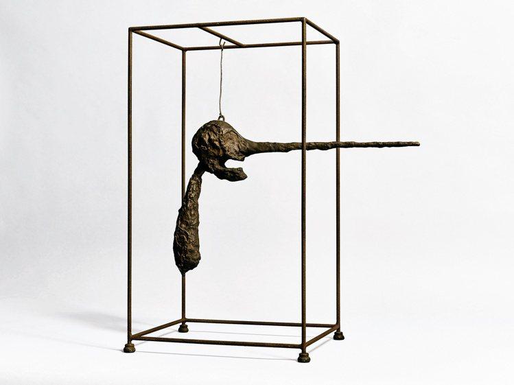Alberto Giacometti「鼻子」,1947年構思、此版本於1949年...