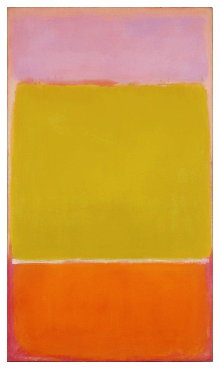 Mark Rothko「No. 7」,1951年作,估價待詢。圖/蘇富比提供