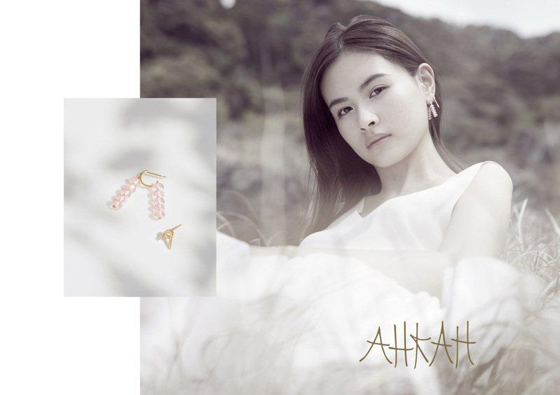 AHKAH signature系列全新廣告視覺。圖/AHKAH提供