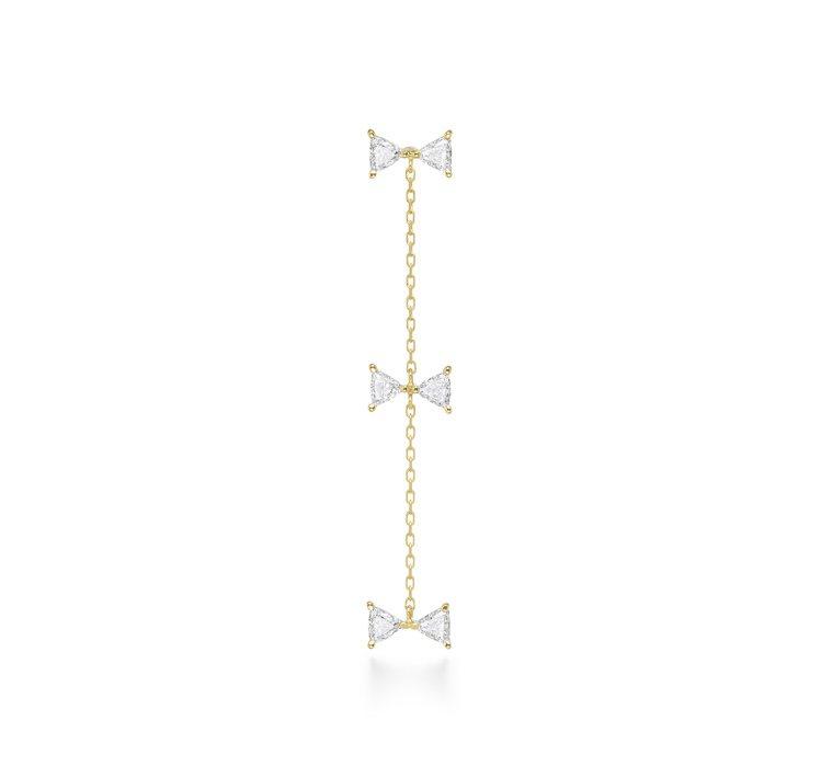 cerf-volant triplet diamond耳環,80,500元。圖/...