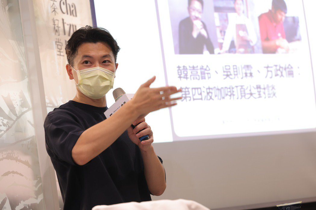 Simple Kaffa 興波咖啡創辦人吳則霖。記者王聰賢、李政龍/攝影