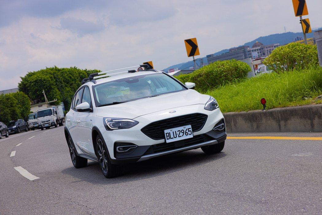 Ford Focus Active任性版。 記者沈昱嘉/攝影