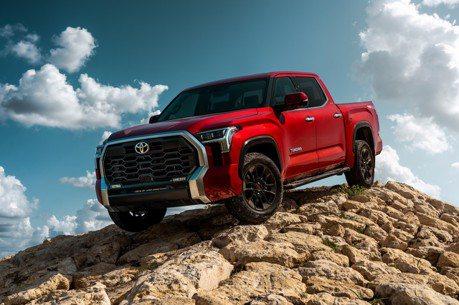 第三代Toyota Tundra登場 挾帶80.5kgm超大扭力的油電皮卡之王!