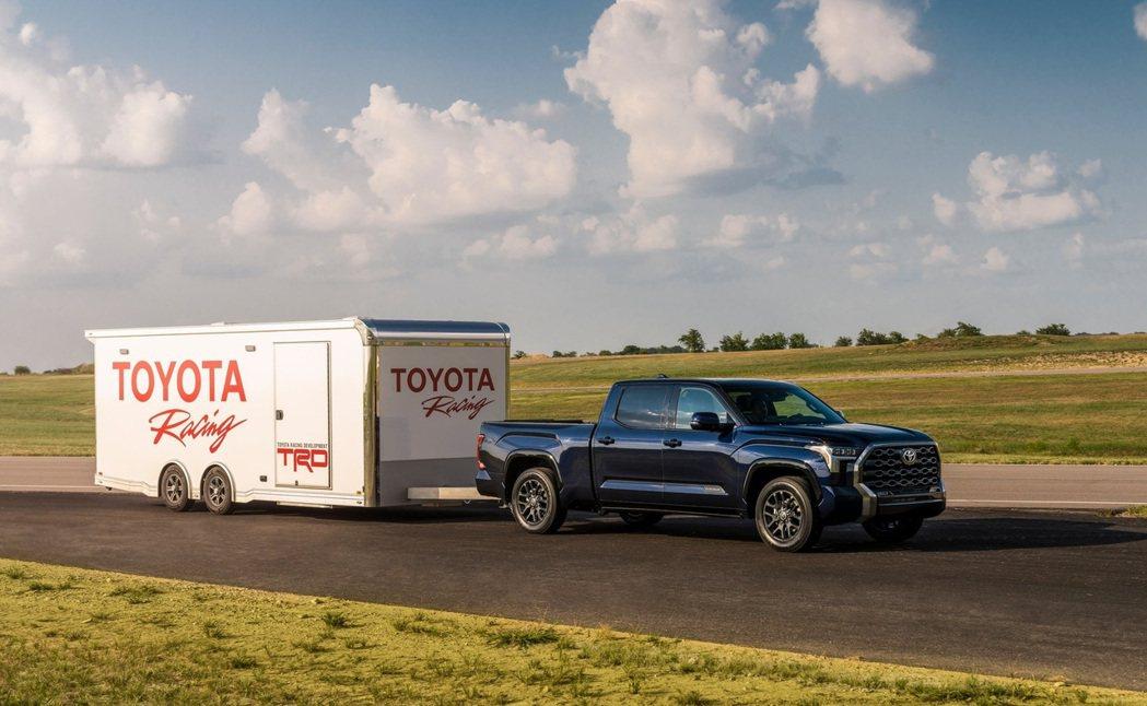 Tundra全車系都標配TSS 2.5智慧駕駛輔助系統。 摘自Toyota
