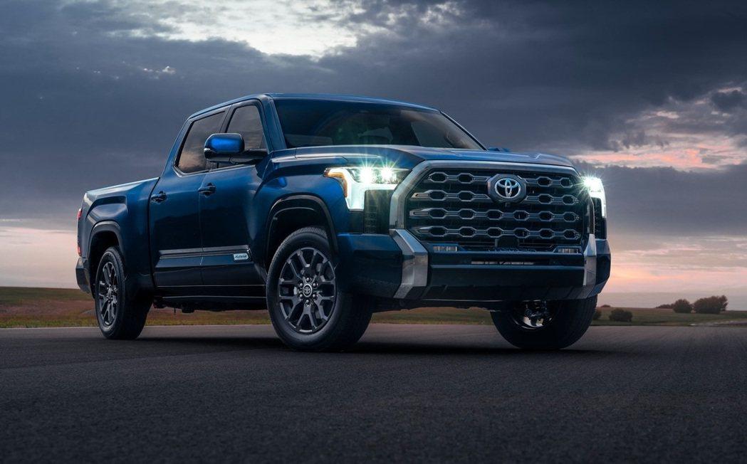 Toyota Tundra將提供六種車型選擇。 摘自Toyota