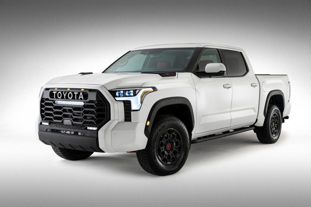 Toyota Tundra。 摘自Toyota