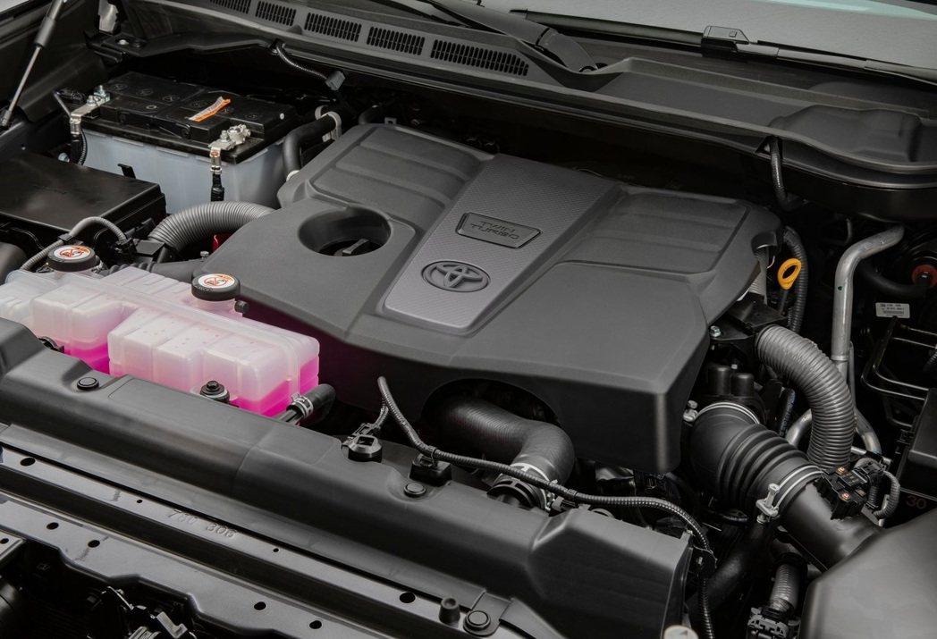 3.5升V6雙渦輪增壓引擎可產生389hp/66.1kg-m的動力。 摘自Toy...