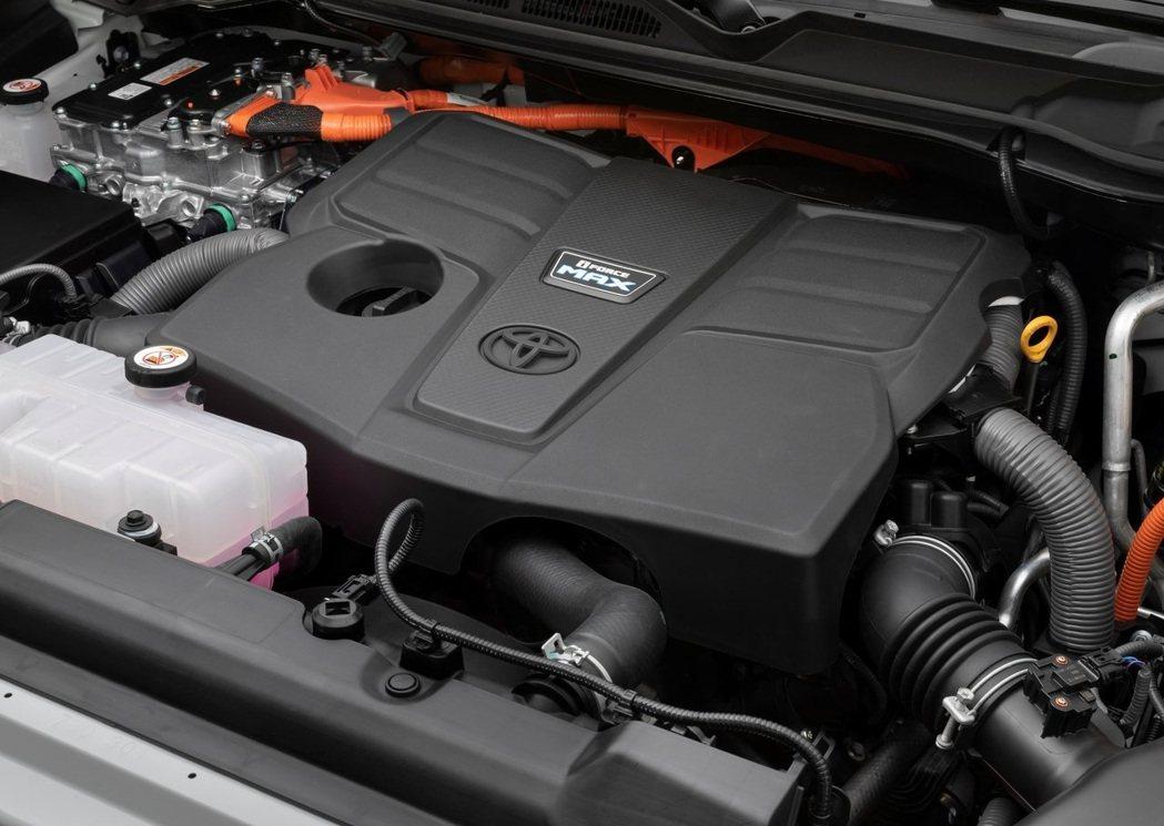 i-Force Max的全新混合動力系統則有437hp/80.5kg-m的強大動...