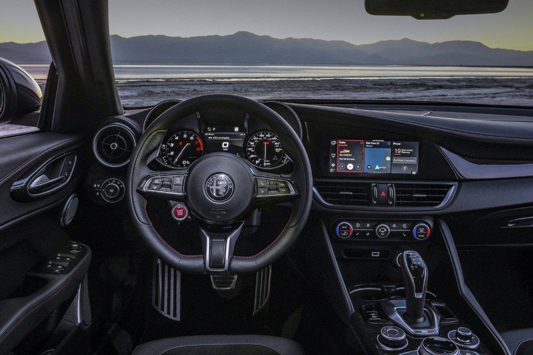 Alfa Romeo一向以駕駛樂趣著稱。 摘自Alfa Romeo