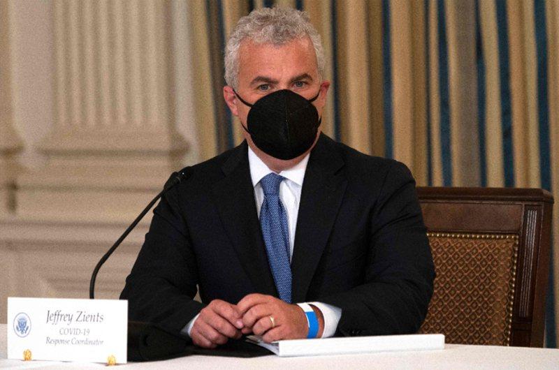 白宮新冠疫情協調官齊安茲(Jeff Zients)。 法新社