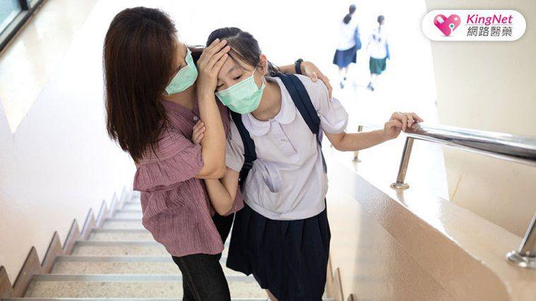 bnt疫苗發燒 圖/KingNet 國家網路醫藥