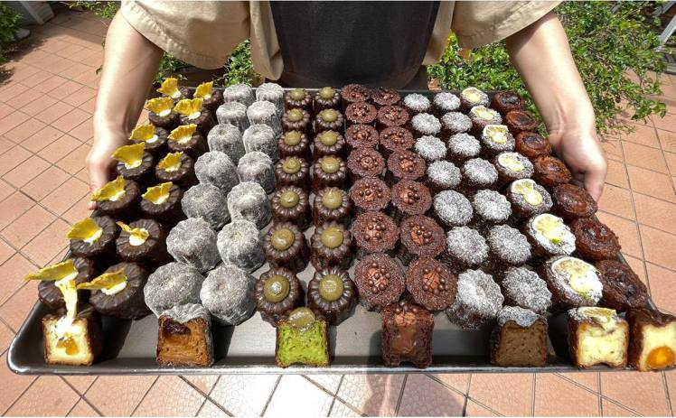 貳玖甜室以「可麗露」最具代表性,甚至被網友們譽為「台北最好吃的可麗露」。圖/擷取...