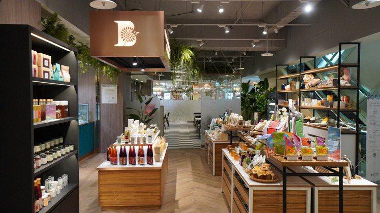 比漾咖啡、選物在比漾廣場3樓推出全新第三代店。圖/摘自比漾廣場粉絲頁