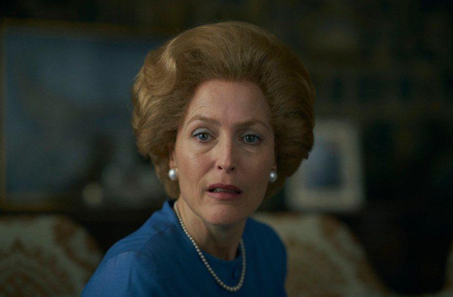姬蓮安德森演出「王冠」的柴契爾夫人,被美國記者詢問「有沒有請教柴契爾夫人?」讓她