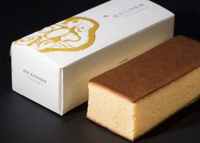 然花抄院原味長崎蛋糕每條600元。圖/新光三越提供