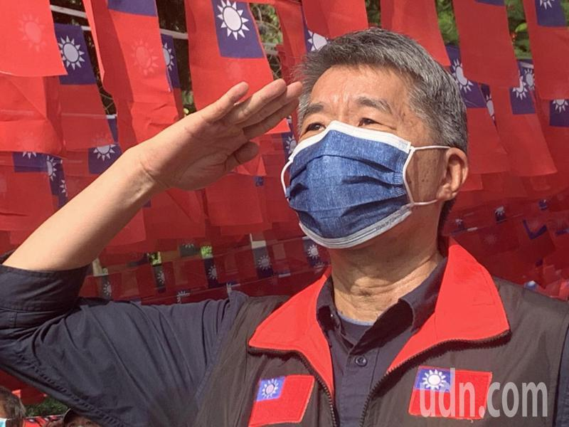 國民黨主席候選人張亞中。本報資料照片