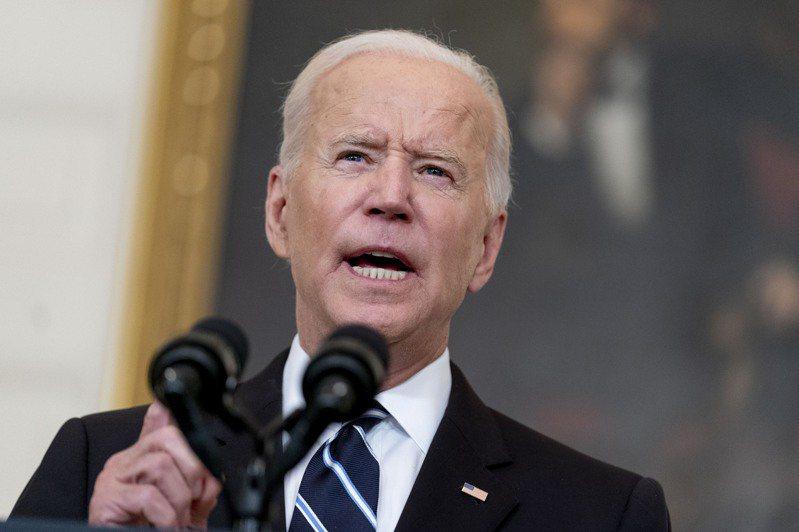 美國總統拜登表示武力無法解決所有問題。美聯社