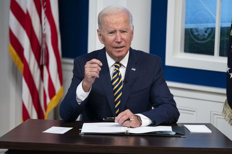 美國總統拜登22日將主持全球抗疫視訊峰會。(美聯社)