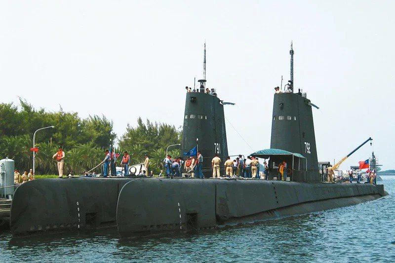 海軍海豹、海獅軍艦,是在1970年代由美國總統尼克森賣給台灣的兩艘二戰潛艦,當時一艘耗費國家1000萬美元,卻沒有任何的攻擊能力。 圖/聯合報系資料照片