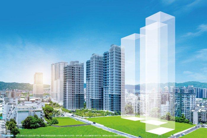 「大同莊園3」規劃3棟地上30-33樓超高樓建築,2-4房景觀首席。