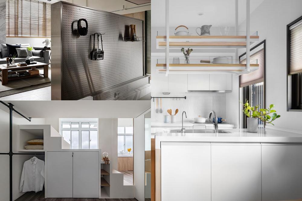 收納是居家生活最基本、卻也最重要的技能 圖/禾光室內裝修設計、時雨空間設計、敘研...
