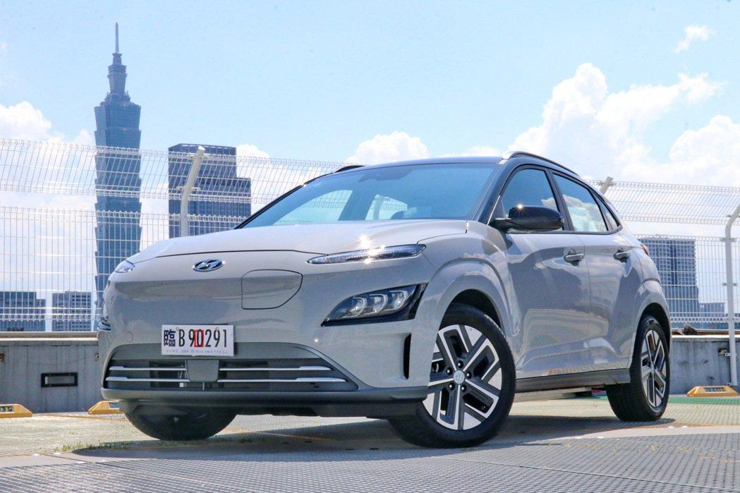 Hyundai Kona Electric。 記者陳威任/攝影
