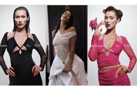 貝拉哈蒂德爆乳穿網紅愛牌 品牌粉絲崩潰:「還我甜美女孩的浪漫蕾絲!」
