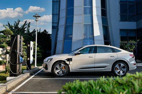 在家充電更快速!Audi推出11kW家用充電系統,極速充電站持續佈建中