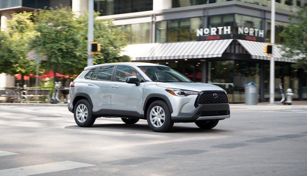 美規Toyota Corolla Cross。 摘自Toyota