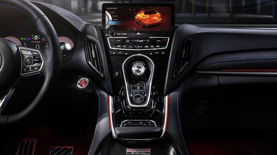 可以透過中控台的動態模式旋鈕來選擇駕駛模式。 摘自Acura