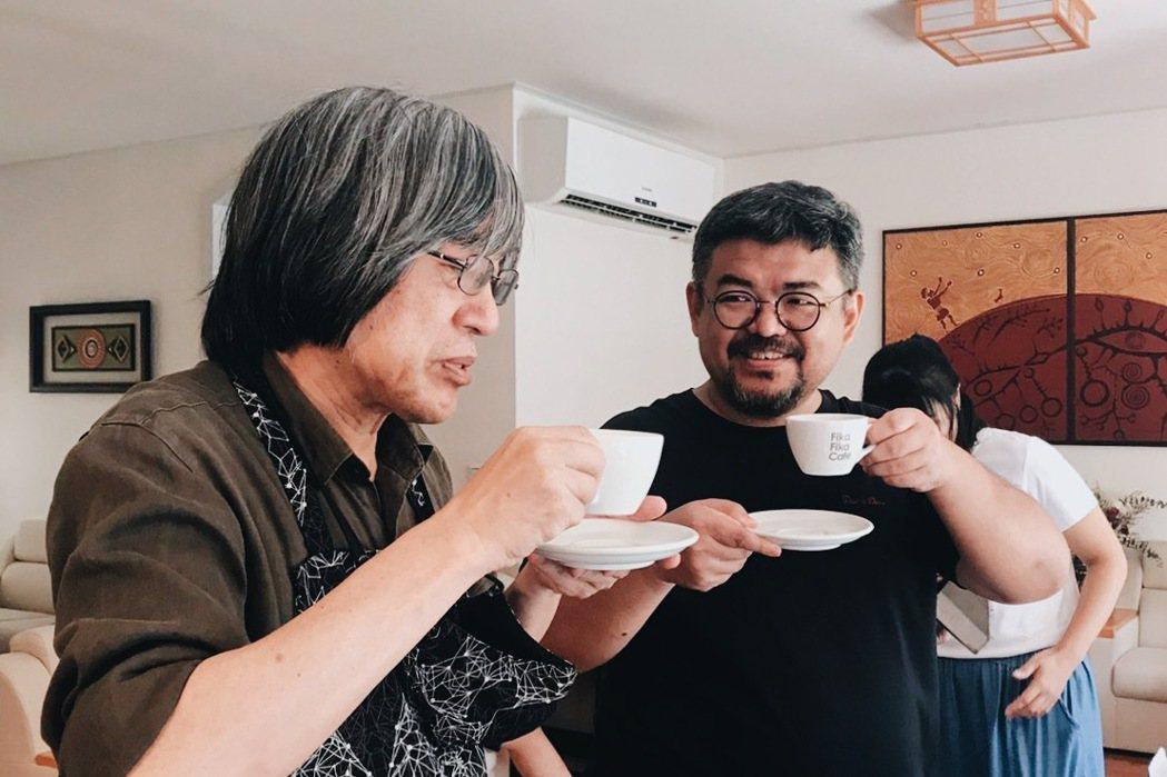 詹宏志(左)本週日將現身「500案內所」,舉行「詹宏志 ╳ 週三讀書會的Coff...