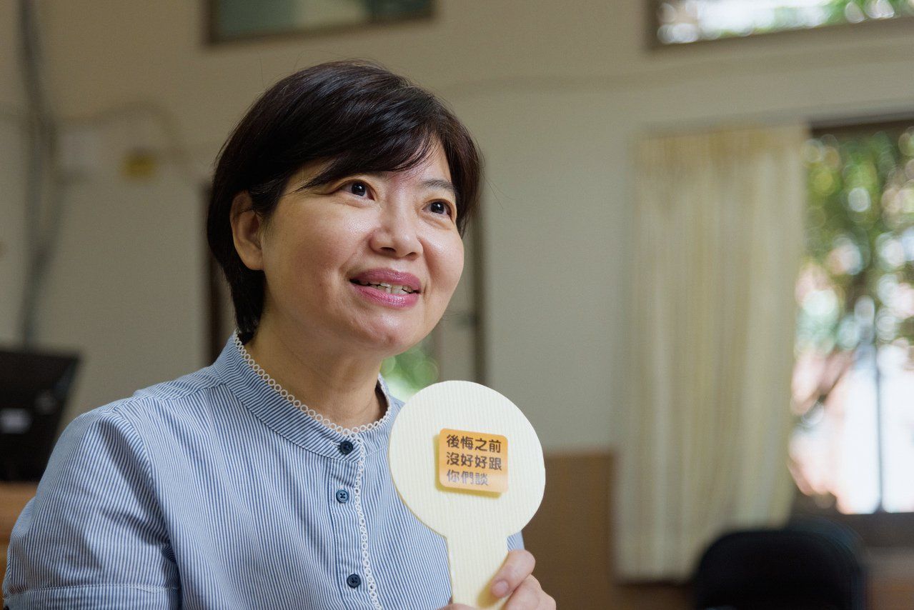 郭慧娟在6年前,將發起自英國的「死亡咖啡館」引入台灣。 圖/陳軍杉攝影