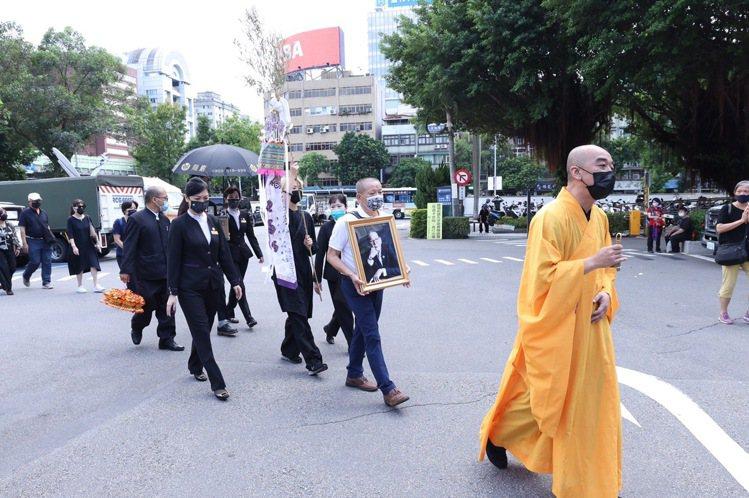 影帝龍劭華今天下午將舉行告別式。圖/攝影王聰賢