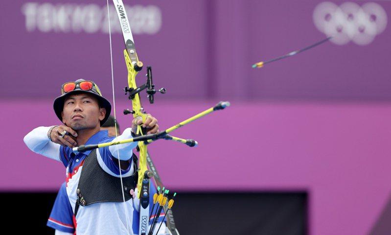 在東京奧運男團摘銀的魏均珩領銜出征世錦賽。 聯合報系資料照/記者余承翰攝影