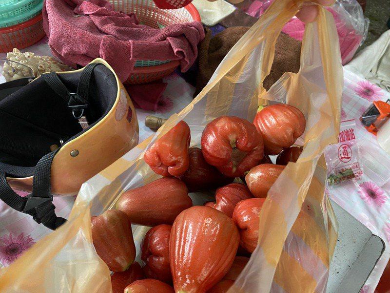 中國大陸20日起禁止台灣蓮霧及釋迦兩種水果輸入大陸,對此農委會聲言在30日前提出科學證據,否則即向WTO提告。圖/聯合報系資料照片